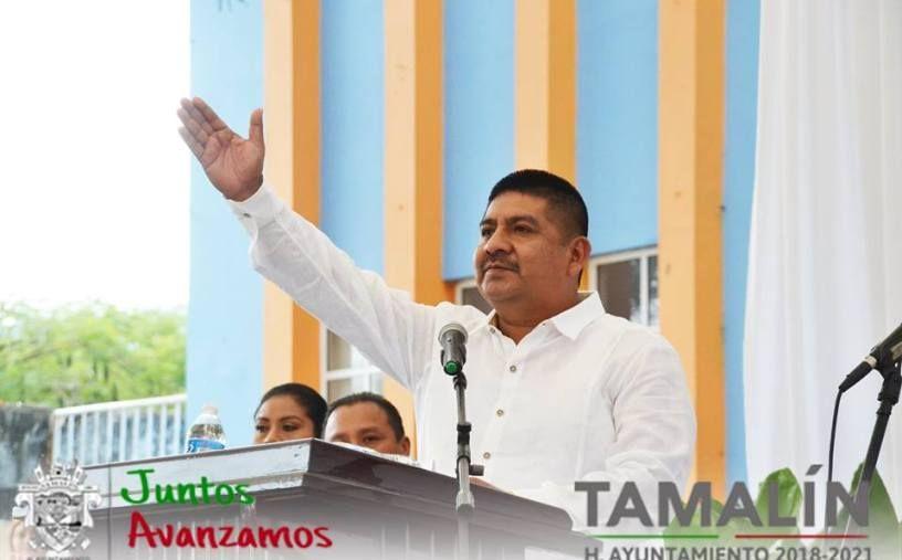 RINDIO PROTESTA COMO ALCALDE DE TAMAL (1)