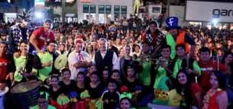 Miles de maderenses disfrutaron del arranque del Carnaval Internacional