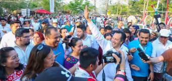 Refrenda Gobernador su compromiso con la cultura en Cumbre Tajín