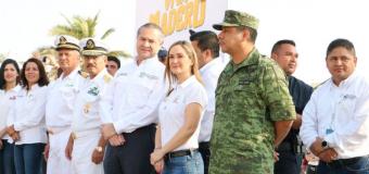 Adrián Oseguera da banderazo al Operativo de Seguridad de Semana Santa 2019