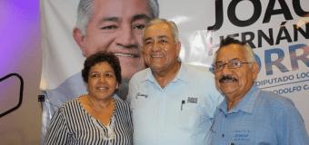 Joaquin Hernadez Correa en Toma de protesta de militantes