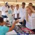 Supervisa alcaldesa Alma Laura Amparán desarrollo de ese ejercicio asistencial a cientos de personas