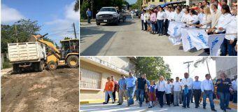 Realiza Gobierno de Altamira rehabilitación de caminos y calles