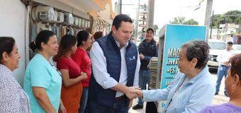 Gerente General de COMAPA ZC supervisa sustitución de tubería en las colonias Laguna de la Puerta y Obrera de Tampico