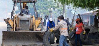 Más de 175 toneladas de cacharros retiradas por Gobierno de Altamira en jornadas de saneamiento integral