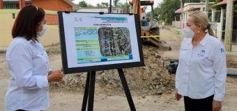 Seguimos trabajando por las obras que necesita la ciudad: Amparán Cruz