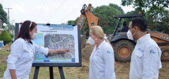 Supervisa Alma Laura Amparán reposición de red hidrosanitaria en la colonia Tampico -Altamira