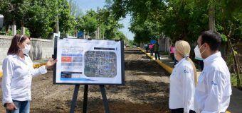 Con más obras de infraestructura, cumple Alma Laura Amparán a los altamirenses