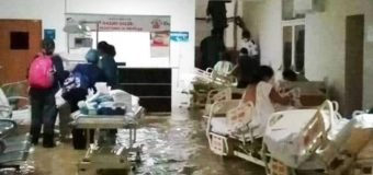 Se inunda Hospital Materno Infantil en Reynosa