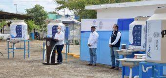Refuerzan gobierno de Alma Laura Amparán y COMAPA Altamira acciones contra COVID 19