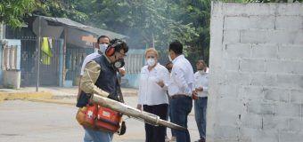 Intensifican esfuerzos Gobierno de Altamira y Secretaría de Salud para evitar proliferación de mosquitos