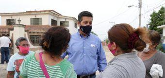 Supervisa Gobernador Francisco Cabeza de Vaca obras de pavimentación en Ciudad Victoria