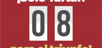 ¡Faltan solo 8 días para nuestro triunfo!: Doña Chaly