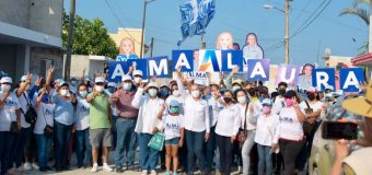 Sectores Portes Gil, El Chocolate y Arrecifes respaldan a Alma Laura Amparán rumbo a diputación