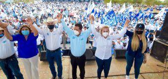 """""""Sigamos construyendo juntos la grandeza de Tamaulipas'': Alma Laura Amparán"""