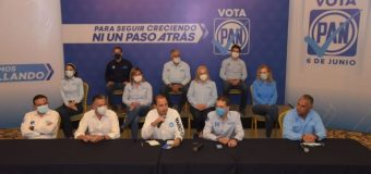 Lider nacional del PAN refrenda total respaldo al Gobernador Cabeza de Vaca