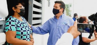 Realiza Gobernador Francisco Cabeza de Vaca supervisión de obras en proceso en Reynosa
