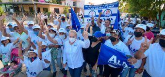 Fomentará Alma Laura Amparán acciones y estrategias para sano desarrollo de las familias