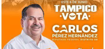 CARLOS PÉREZ HERNÁNDEZ, SERÁ TU VOZ EN CONGRESO DE UNIÓN