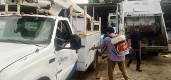 Gobierno de Altamira sanea vehículos de Servicios Públicos