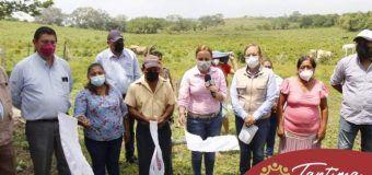 BANDERAZO DE OBRA: CONSTRUCCIÓN DE BAÑOS EN EL TEBAEV DE LA LOC. DE RANCHO ABAJO