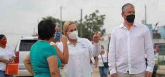 Supervisa Alma Laura Amparán obras de infraestructura hidrosanitaria