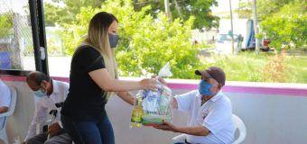 Respalda DIF Altamira a adultos mayores con apoyos alimentarios